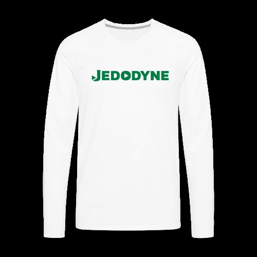 JEDODYNE CLASSIC GREEN TEXT - Men's Premium Long Sleeve T-Shirt