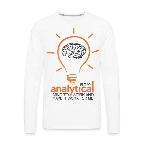 ANALYTICAL MIND - Men's Premium Long Sleeve T-Shirt