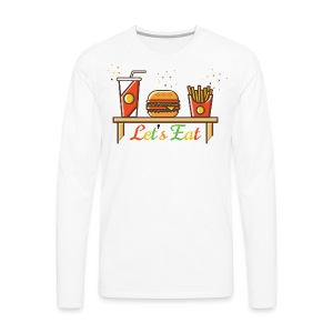 Hamburger T Shirts, Shirts & Tees - Men's Premium Long Sleeve T-Shirt