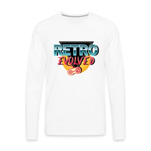 Retro Evolved - Men's Premium Long Sleeve T-Shirt