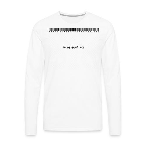 VIRTUALpersonaltrainer - Men's Premium Long Sleeve T-Shirt