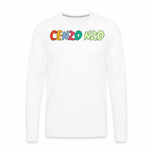 Cenzo NZO Merch - Men's Premium Long Sleeve T-Shirt