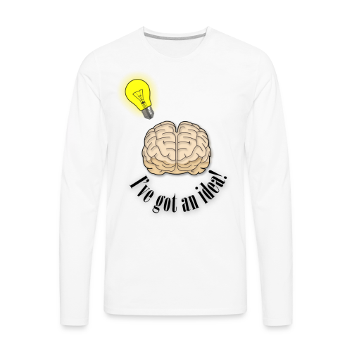 Brainstorm - Men's Premium Long Sleeve T-Shirt