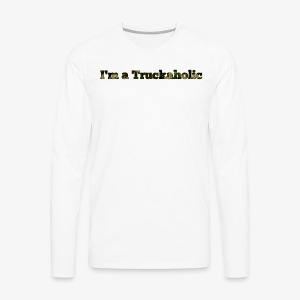 First Step - Men's Premium Long Sleeve T-Shirt