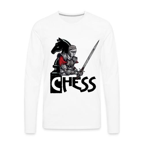 The Chess War - Men's Premium Long Sleeve T-Shirt