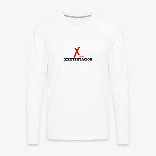 New XXXTENTACION Merch - Men's Premium Long Sleeve T-Shirt