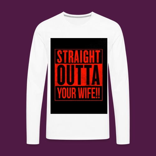 funny - Men's Premium Long Sleeve T-Shirt