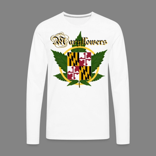 Maryflowers - Men's Premium Long Sleeve T-Shirt