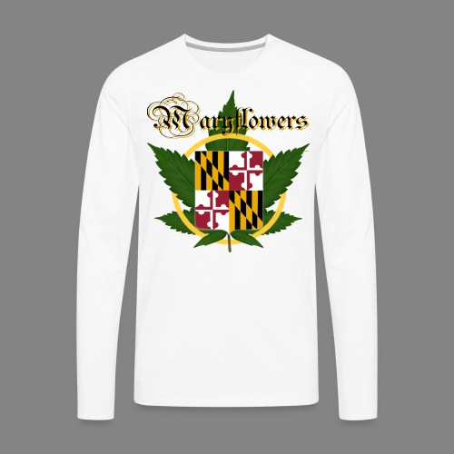 Maryflowers - Men's Premium Long Sleeve T-Shirt