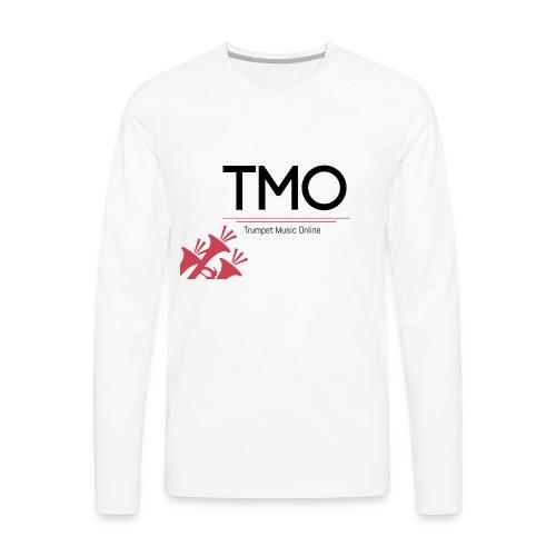 TMO Logo - Men's Premium Long Sleeve T-Shirt