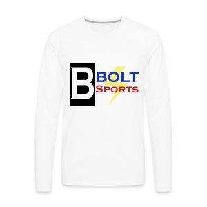 Bolt Sports 2nd Collection - Men's Premium Long Sleeve T-Shirt