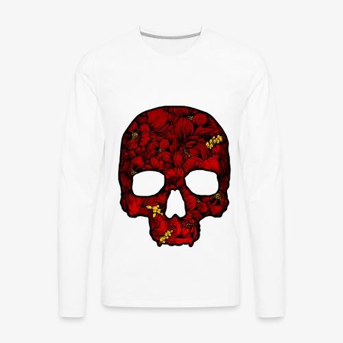 Red Skull - Men's Premium Long Sleeve T-Shirt