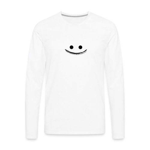 Smile - Men's Premium Long Sleeve T-Shirt