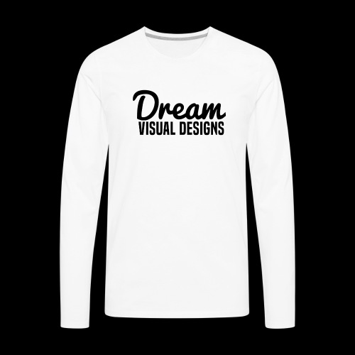 Dream Visual Designs - Men's Premium Long Sleeve T-Shirt