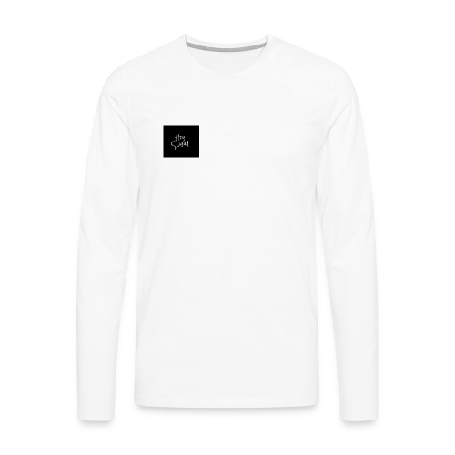 Hey Sügar. By Alüong Mangar - Men's Premium Long Sleeve T-Shirt