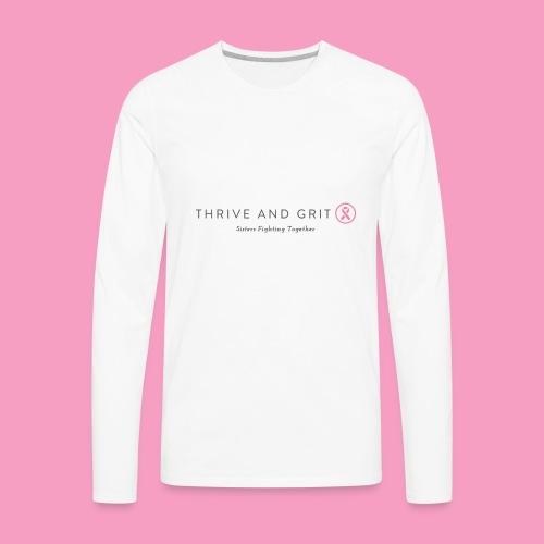 logo not in pdf - Men's Premium Long Sleeve T-Shirt