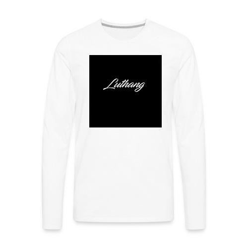Luthang logo - Men's Premium Long Sleeve T-Shirt