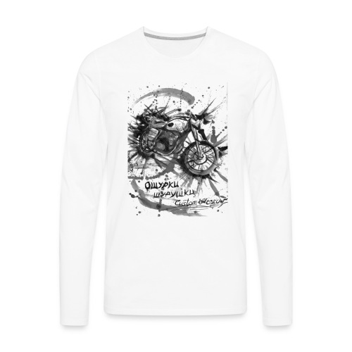 custom motorcycles moscow - Men's Premium Long Sleeve T-Shirt