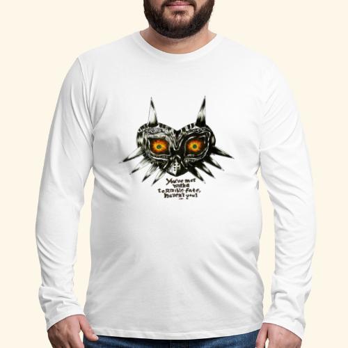 Majora Zelda - Men's Premium Long Sleeve T-Shirt