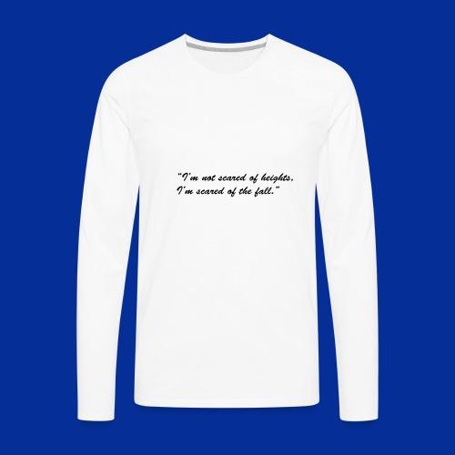 Heights - Men's Premium Long Sleeve T-Shirt
