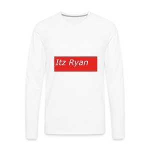 Supreme Themed Itz Ryan Clothing - Men's Premium Long Sleeve T-Shirt