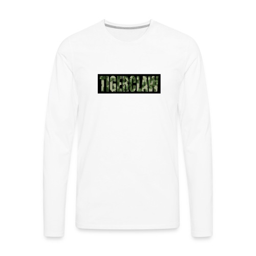 TigerClawCamo - Men's Premium Long Sleeve T-Shirt