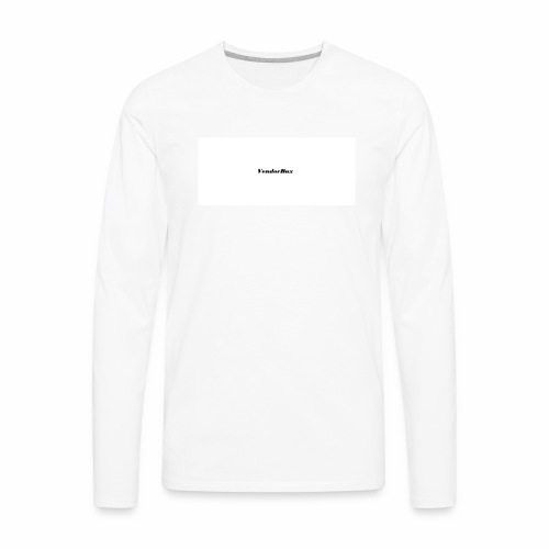 VendorBux Merch - Men's Premium Long Sleeve T-Shirt