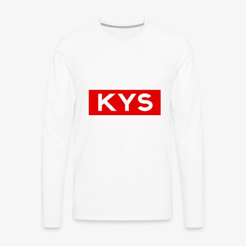 KYS - Classic - Men's Premium Long Sleeve T-Shirt