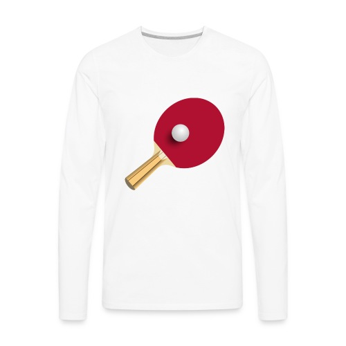 Table tennis clear - Men's Premium Long Sleeve T-Shirt