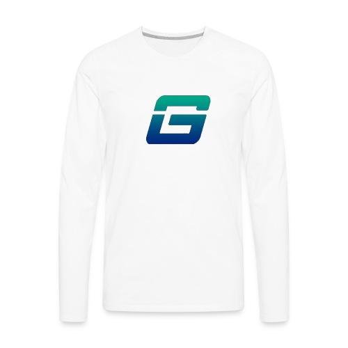 Give Esports Logo - Men's Premium Long Sleeve T-Shirt