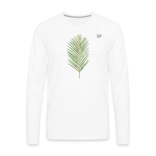 Vis - Areca Palm - Men's Premium Long Sleeve T-Shirt