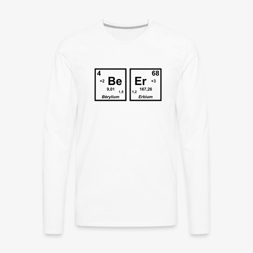 BEER - Men's Premium Long Sleeve T-Shirt