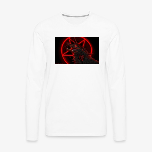 The demon wolf pack - Men's Premium Long Sleeve T-Shirt