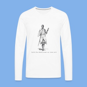 Vintage Fly (Medieval Fat) - Men's Premium Long Sleeve T-Shirt