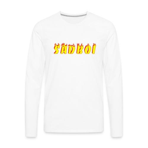 sadboiflames - Men's Premium Long Sleeve T-Shirt