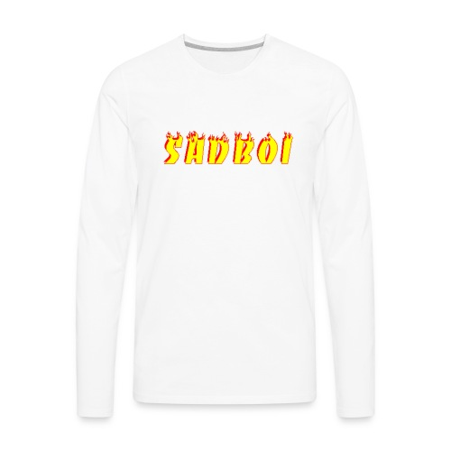 sadboiflames - Men's Premium Long Sleeve T-Shirt