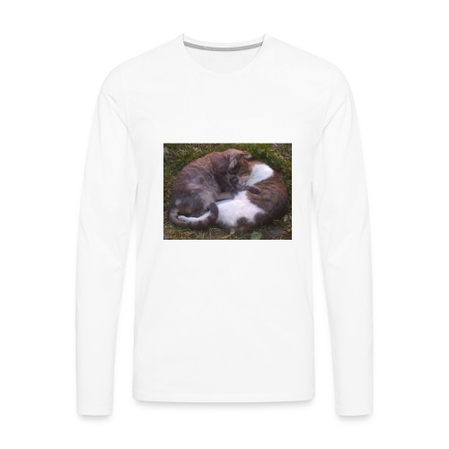 Cat nap - Men's Premium Long Sleeve T-Shirt