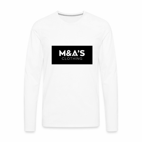 M and A - Men's Premium Long Sleeve T-Shirt
