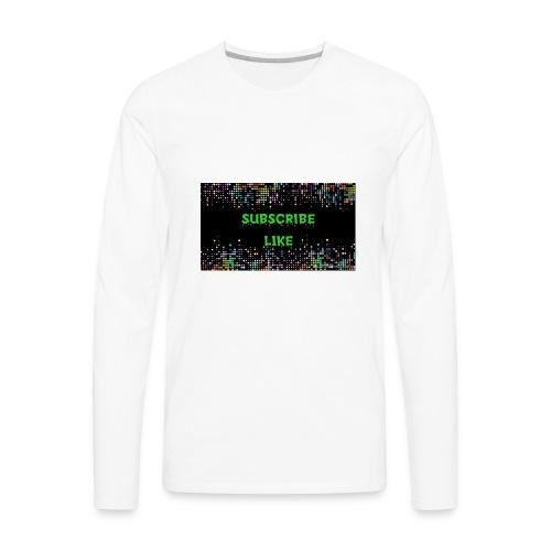Photo 1516737192484 - Men's Premium Long Sleeve T-Shirt
