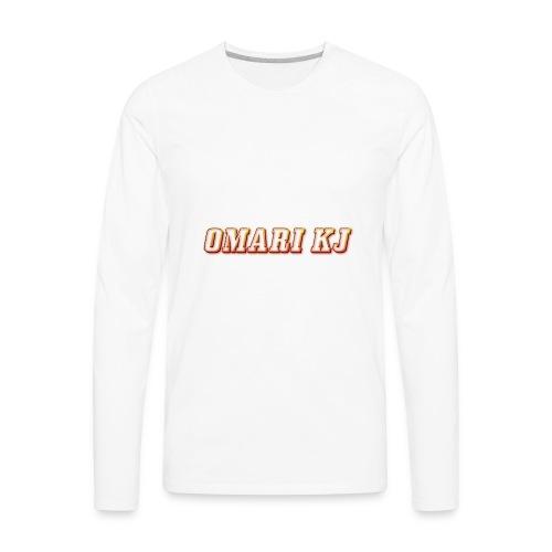 Omari kj - Men's Premium Long Sleeve T-Shirt