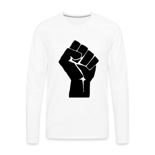 Fight the Power - Men's Premium Long Sleeve T-Shirt