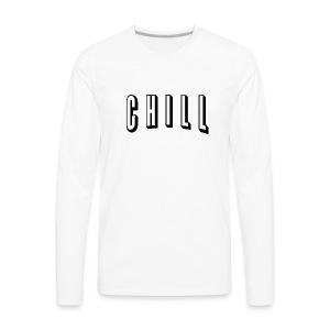 NETFLIX logo - Men's Premium Long Sleeve T-Shirt