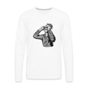 moderat logo - Men's Premium Long Sleeve T-Shirt