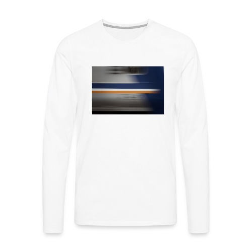 train - Men's Premium Long Sleeve T-Shirt