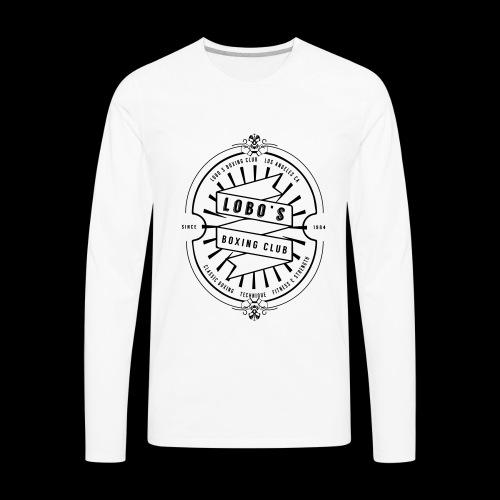 LOBOS LOGO - Men's Premium Long Sleeve T-Shirt