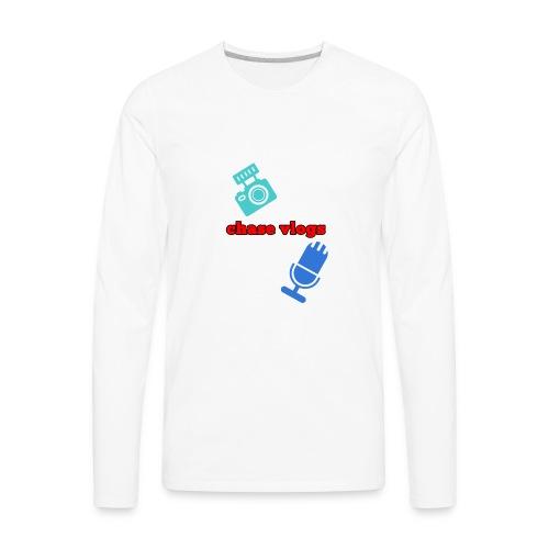 Chase vlogs merch (YT) - Men's Premium Long Sleeve T-Shirt