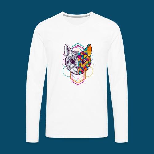 Animal style originates - Men's Premium Long Sleeve T-Shirt