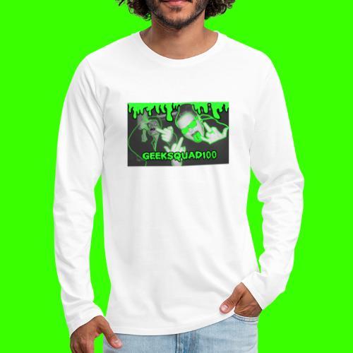 Geeksquad100 - Men's Premium Long Sleeve T-Shirt