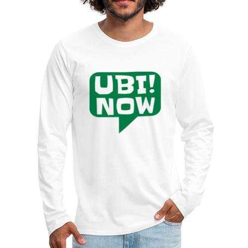 The movement - UBI NOW - Men's Premium Long Sleeve T-Shirt
