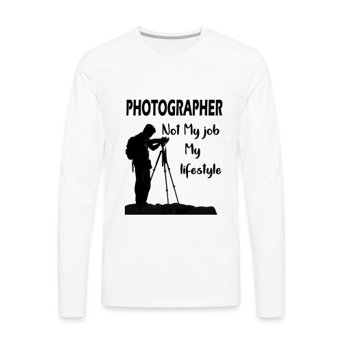 photgrapher - Men's Premium Long Sleeve T-Shirt
